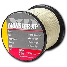 สายลำโพง Monster XP Navajo White (NW) Compact Speaker Cable MKII ขนาด 16AWG